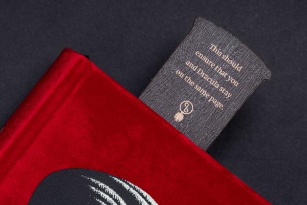 Dracula SE Bookmark Message