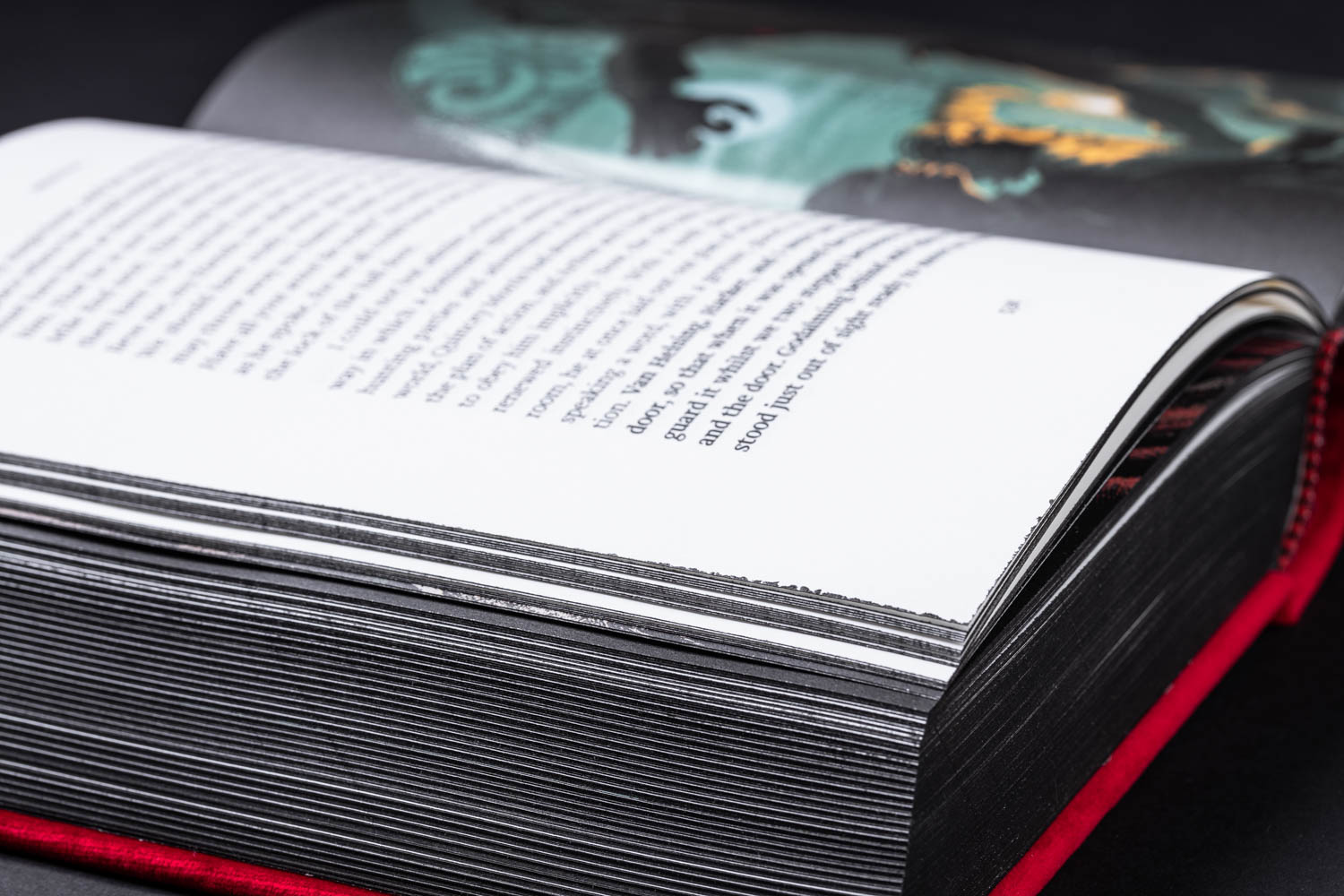 Dracula Black Page Edges